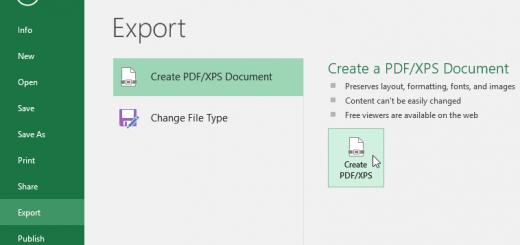 Hướng dẫn tạo file PDF từ file Excel