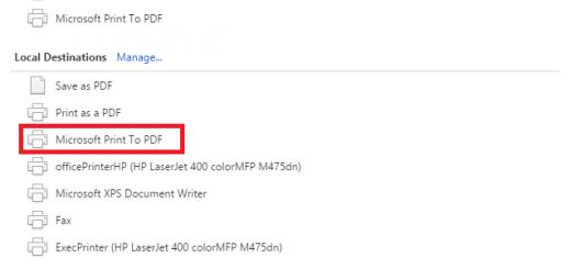 Chuyển file bất kỳ sang PDF bằng công cụ có sẵn