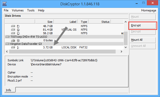 Hướng dẫn sử dụng DiskCryptor để mã hóa dữ liệu