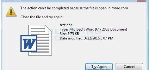 Cách xóa file đang chạy, đang sử dụng trên máy tính