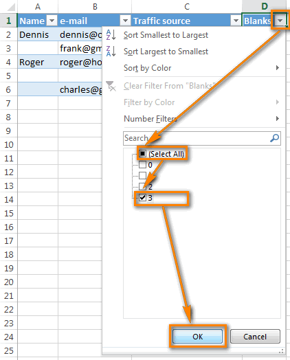 Top 4 cách xóa hàng trống, rỗng trong Excel nhanh chóng