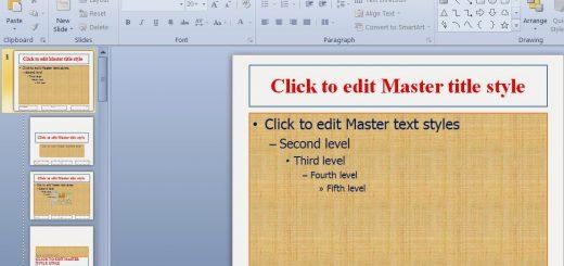 Cách sử dụng chi tiết Slide Master trong PowerPoint nâng cao