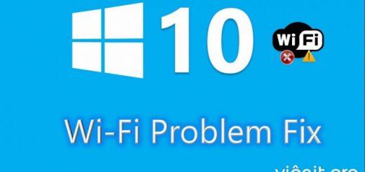 WiFi bị ngắt kết nối liên tục trên Win 10