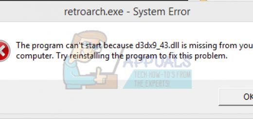 [Fixed 100%] Lỗi mất file D3dx9_43.dll