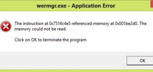 [Fixed 100%] Lỗi WerMgr.exe, WerFault.exe