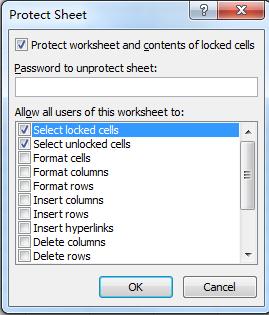 Hướng dẫn khóa file Excel không cho xem hàm, chỉnh sửa