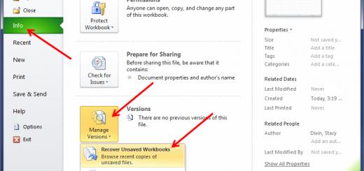 Khôi phục file Word, Excel chưa kịp lưu