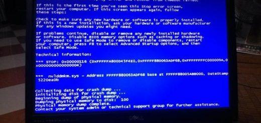 Top 3 cách giải quyết màn hình xanh trên máy tính