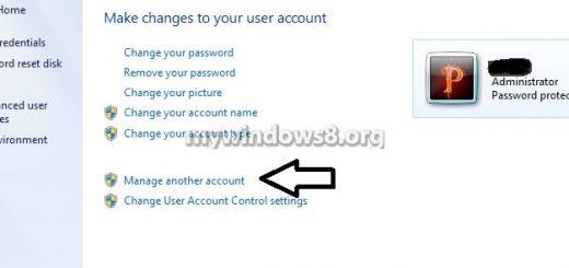 Cách vô hiệu hóa tài khoản user trên Win 8, Win 8.1