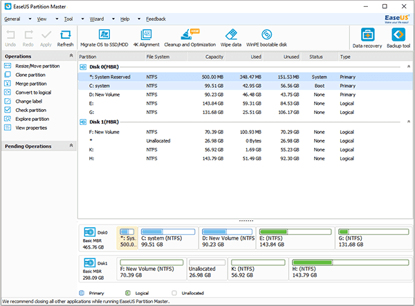 Hướng dẫn tăng dung lượng ổ đĩa trên máy tính