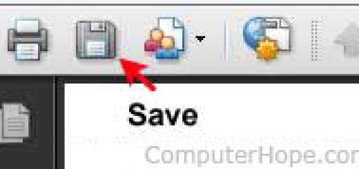 Hướng dẫn lưu file PDF online về máy tính không bị lỗi font