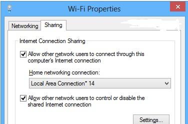 Hướng dẫn phát wifi bằng Wi-host nâng cao