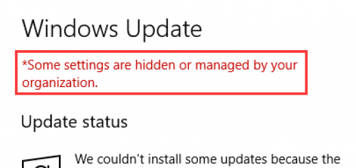 [Fixed 100%] lỗi Some settings are hidden or managed by your organization trên Win 10