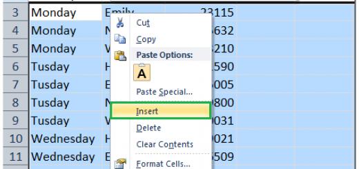 Top 4 cách chèn hàng và cột hàng loạt trong Excel