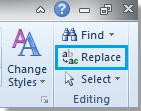 Sử dụng Find and Replace để xóa hàng trống trong Word