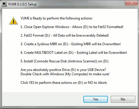 Hướng dẫn sử dụng YUMI để tạo ổ đĩa USB nhanh chóng