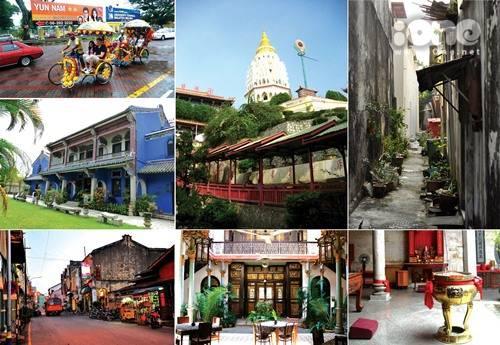 Hướng dẫn du lịch đảo Penang Malaysia cực vui