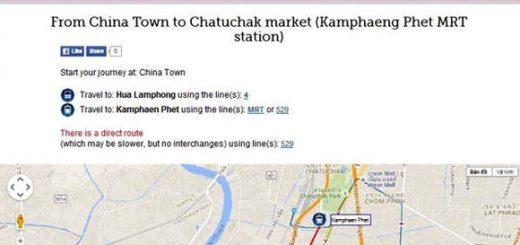 Hướng dẫn mua sim điện thoại và di chuyển tại Bangkok