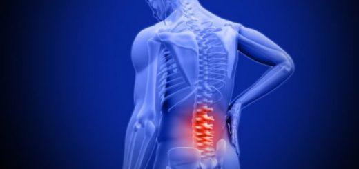 Bị xơ xương dưới sụn các thân sống thất lưng?