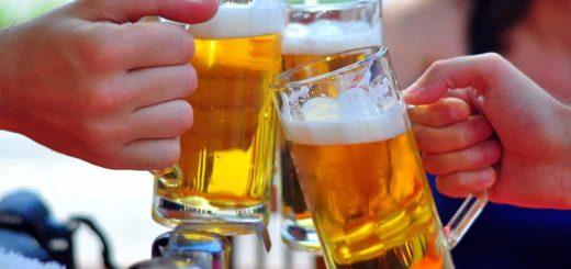 Nối gân bao lâu thì được uống bia?