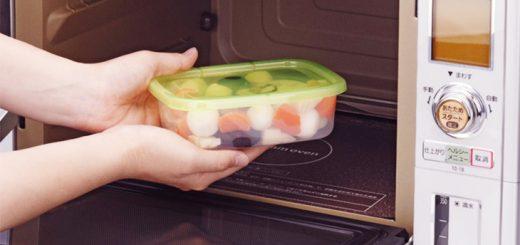 Hộp nhựa thức ăn trong lò vi sóng gây nguy hiểm?