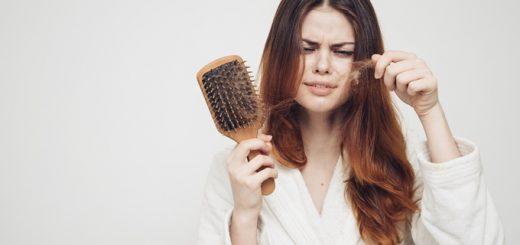 Da đầu nhờn gây rụng tóc phải làm sao?