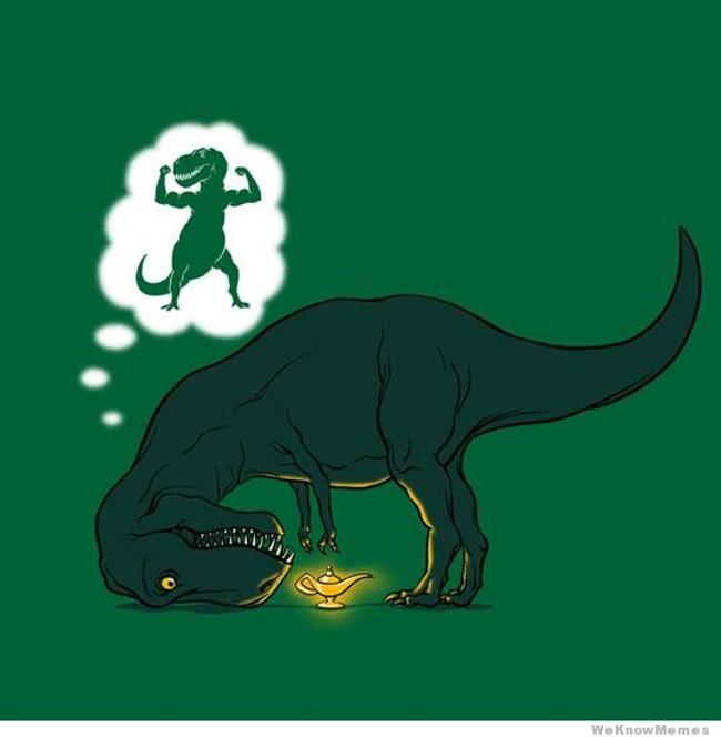 Tại sao khủng long có cánh tay nhỏ?