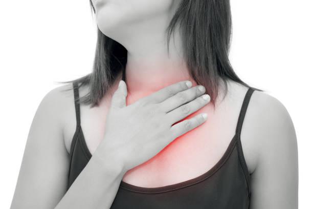 Nóng trong ngực ra sau lưng có nguy hiểm?